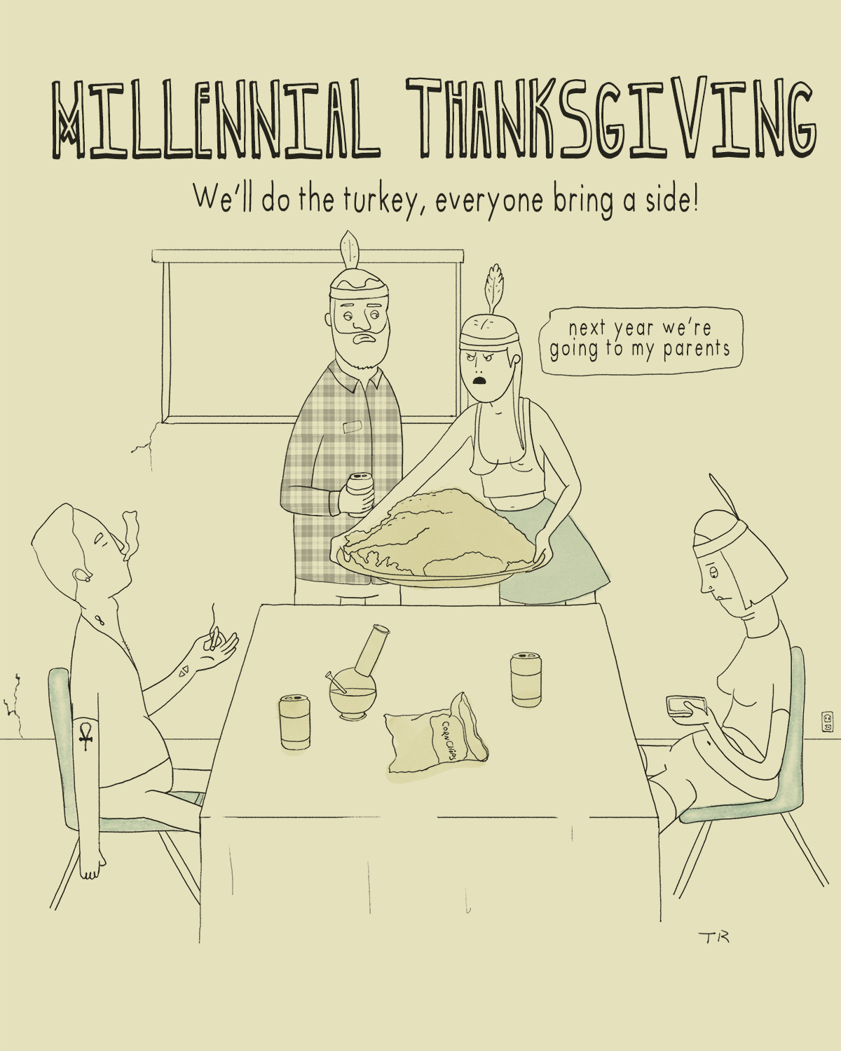 Millennial Thanksgiving