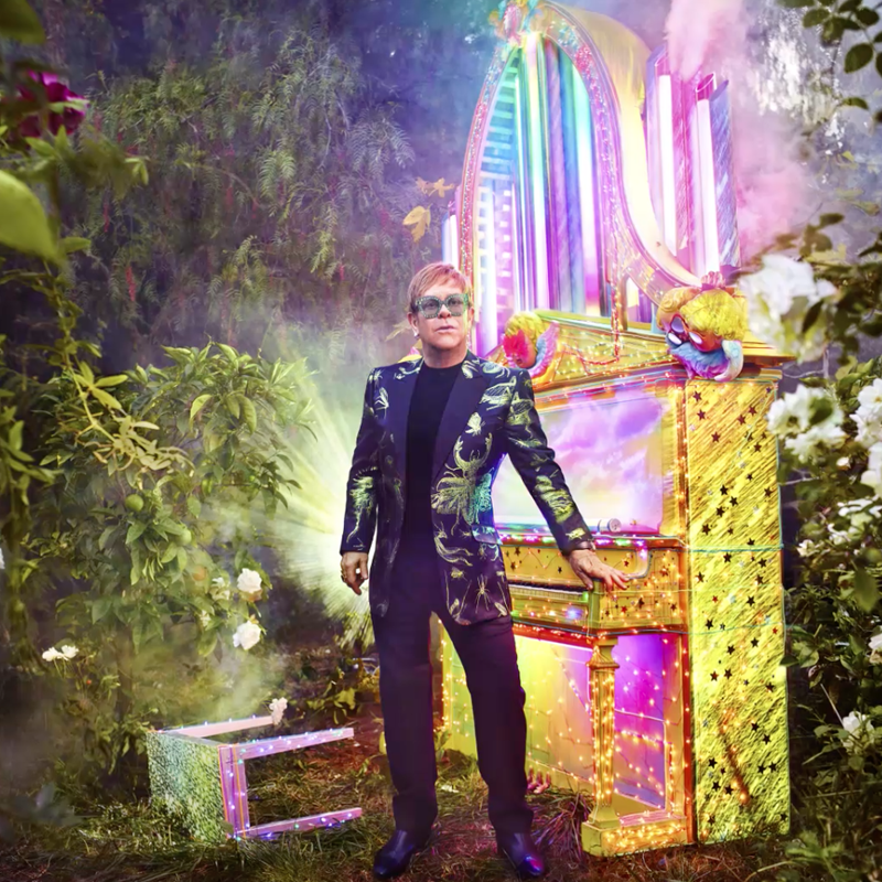 Elton John's Farewell Tour Promo I animated and composited